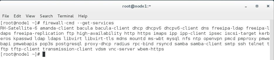 firewalld_services_unixmen