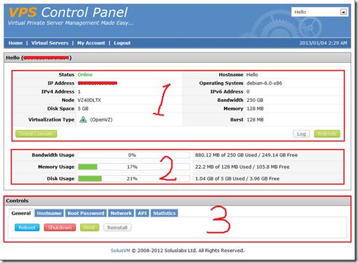 SolusVM(VPS管理面板)使用教程