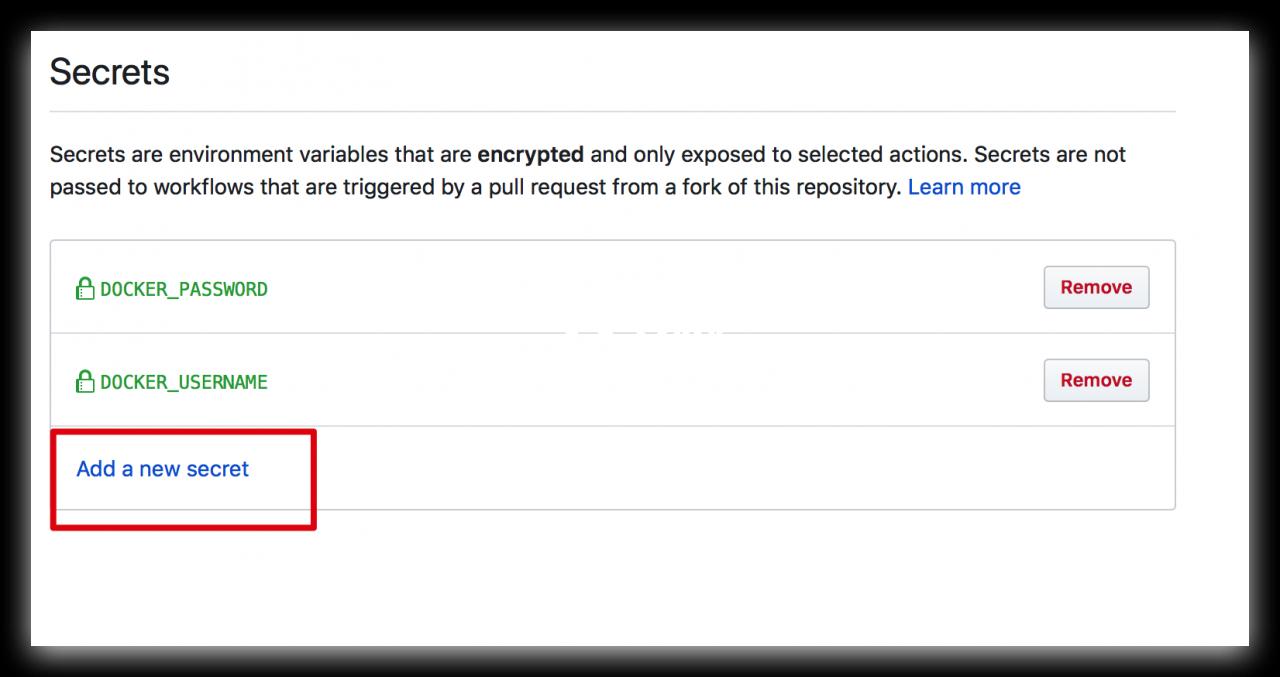 使用GitHub Action构建image&推送docker hub